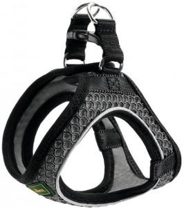 -Hunter шлейка для собак Hilo Comfort 58-65 см, сетчатый текстиль, антрацит