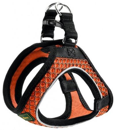 -Hunter шлейка для собак Hilo Comfort 33-36 см, сетчатый текстиль, оранжевая
