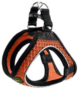 -Hunter шлейка для собак Hilo Comfort 46-52 см, сетчатый текстиль, оранжевая