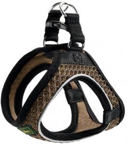 -Hunter шлейка для собак Hilo Comfort 33-36 см, сетчатый текстиль, коричневая