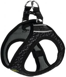 -Hunter шлейка для собак Hilo Soft Comfort 46-52 см, сетчатый текстиль, черная