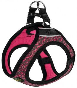 -Hunter шлейка для собак Hilo Soft Comfort 58-65 см, сетчатый текстиль, розовая