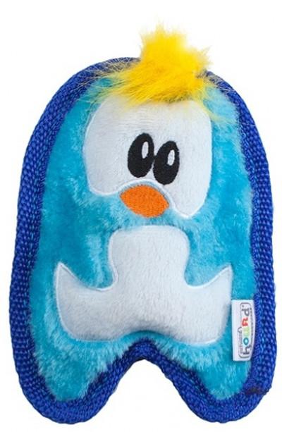 -ОН игрушка для собак Invinc Mini Пингвин 17 см без наполнителя