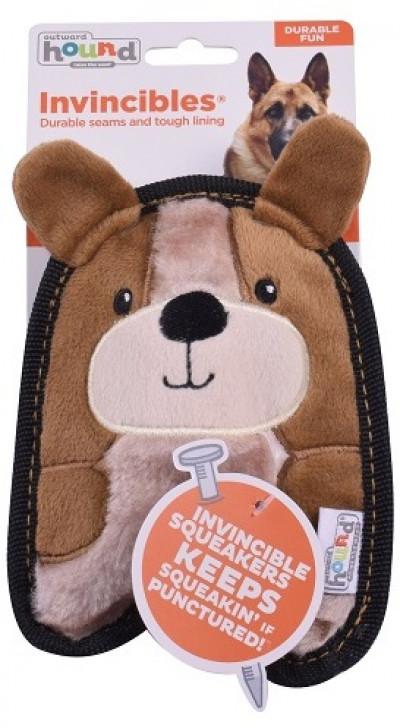 -ОН игрушка для собак Invinc Mini Щенок 17 см без наполнителя арт.67807