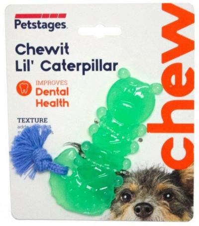 """-Petstages игрушка для собак Mini """"ОРКА гусеница"""" 12 см"""