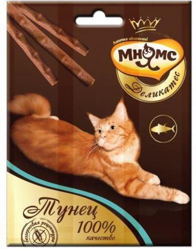 -Мнямс Деликатес лакомые палочки 9 см для кошек с тунцом 3х4 г