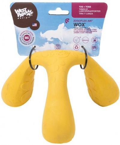 Zogoflex Air игрушка интерактивная для собак Wox 10x15x17 см желтая