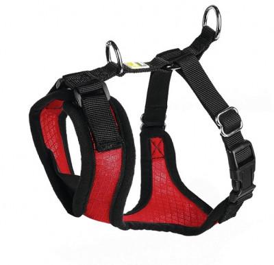 -Hunter шлейка для собак Manoa XS (35-41 см) нейлон/сетчатый текстиль красный
