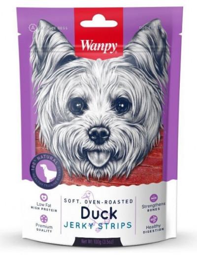 -Wanpy Dog утиная соломка 100 г