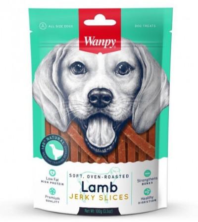 -Wanpy Dog соломка из мяса ягненка 100 г