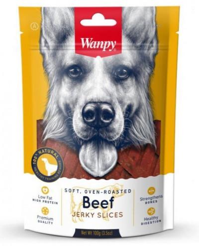-Wanpy Dog соломка из вяленой говядины 100 г