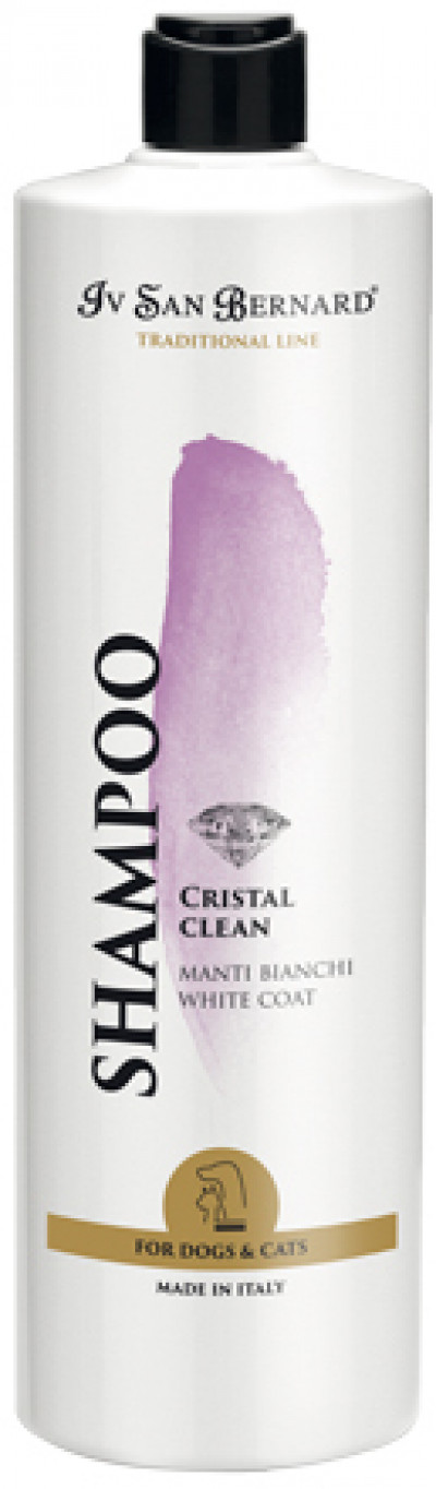ISB Traditional Line Cristal Clean Шампунь для устранения желтизны шерсти 1 л