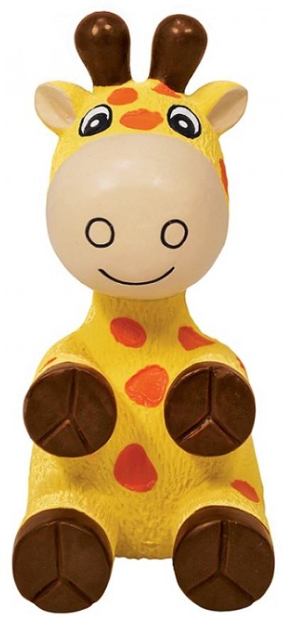 -KONG игрушка для собак Wiggi Жираф 22х12 см большой