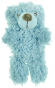 AROMADOG Игрушка для собак Мишка 6 см малый голубой